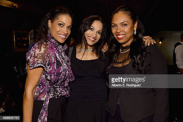 Rasheda AliWalsh Jamillah AliJoyce and Hana Ali attend the after party for the Los Angeles premiere of Focus World's I Am Ali at The Sayers Club on...