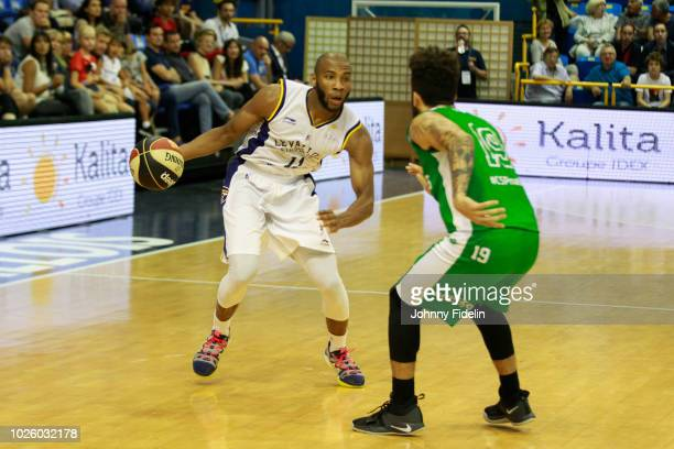 Rasheed Sulaimon of Levallois during the Trophy Michael Brooks match between Levallois Metropolitans and Limoges on September 1 2018 in Paris France