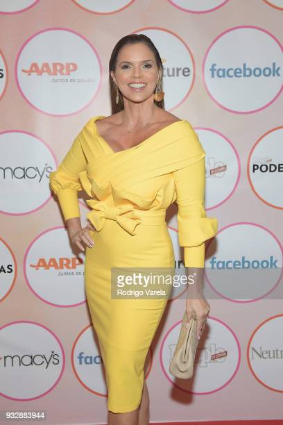 Rashel Diaz arrives at the People en Espanol's 25 Most Powerful Women Luncheon 2018 on March 16 2018 in Miami Florida