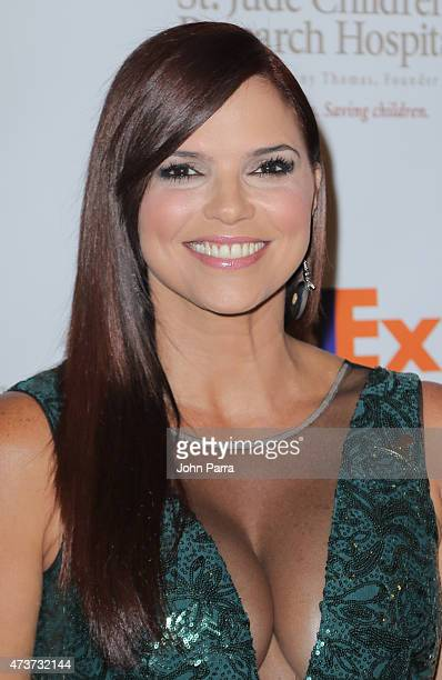 Rashel Diaz attends the 13th Annual FedEx/St Jude Angels and Stars Gala at JW Marriott Marquis on May 16 2015 in Miami Florida