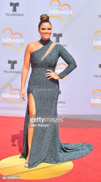 Rashel Diaz attends the 2018 Billboard Latin Music Awards at the Mandalay Bay Events Center on April 26 2018 in Las Vegas Nevada