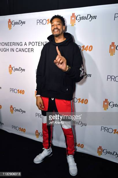 Rashid Byrd attends CytoDyn's Pro 140 Awareness Event for HIV and Cancer Prevention at The Roosevelt Hotel in Hollywood on February 28 2019 in Los...