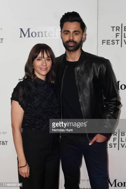 Rashida Jones and Hasan Minhaj attend the Tribeca Talks - Storytellers with Rashida Jones at the 2019 Tribeca Film Festival at BMCC Tribeca PAC on...