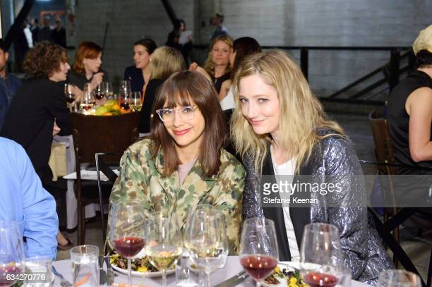 Rashida Jones and Judy Greer attend Rachel Comey Fall Winter 2017 Collection Presentation on February 7 2017 in Los Angeles California