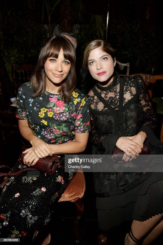 H&M x ERDEM Runway Show & Party - Front Row : News Photo
