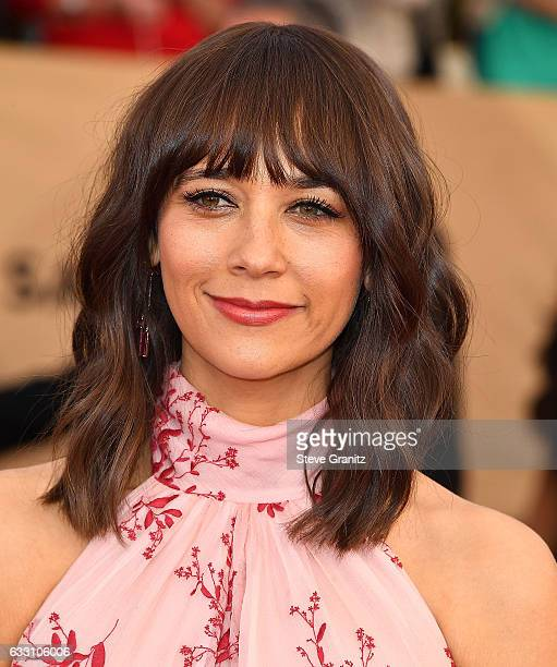 Rashida Jones arrives at the 23rd Annual Screen Actors Guild Awards at The Shrine Expo Hall on January 29 2017 in Los Angeles California
