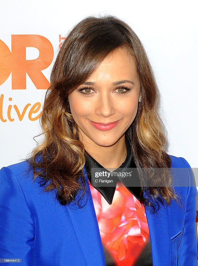 Rashida Jones arrives at The Trevor Project's 2012 'Trevor Live' Event Honoring Katy Perry at Hollywood Palladium on December 2, 2012 in Hollywood, California.