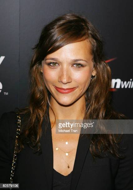 Rashida Jones arrives to the launch party of the pink Blackberry Curve on the 15th Anniversary of the Intermix clothing boutique held at Intermix on...
