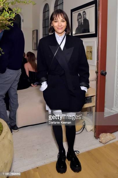 Rashida Jones attends Fashion In La Book Launch Celebration at Private Residence on November 05, 2019 in Beverly Hills, California.