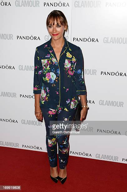 Rashida Jones attends Glamour Women of the Year Awards 2013 at Berkeley Square Gardens on June 4 2013 in London England