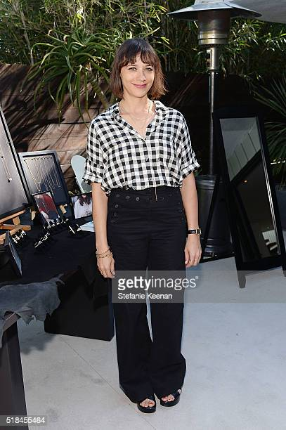 Rashida Jones attends Imagine Vince Camuto Launch Event at the Home of The A List's Ashlee Margolis on March 31 2016 in Beverly Hills California