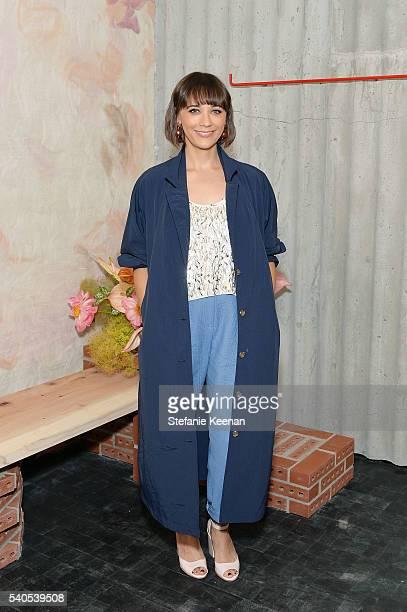 Rashida Jones attends Rachel Comey Los Angeles Store Opening on June 15 2016 in Los Angeles California