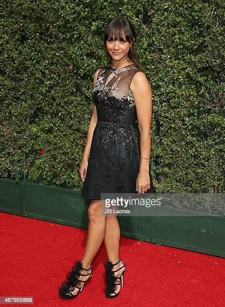 Rashida Jones attends the 2015 Creative Arts Emmy Awards at Microsoft Theater on September 12 2015 in Los Angeles California