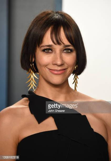 Rashida Jones attends the 2020 Vanity Fair Oscar Party hosted by Radhika Jones at Wallis Annenberg Center for the Performing Arts on February 09,...