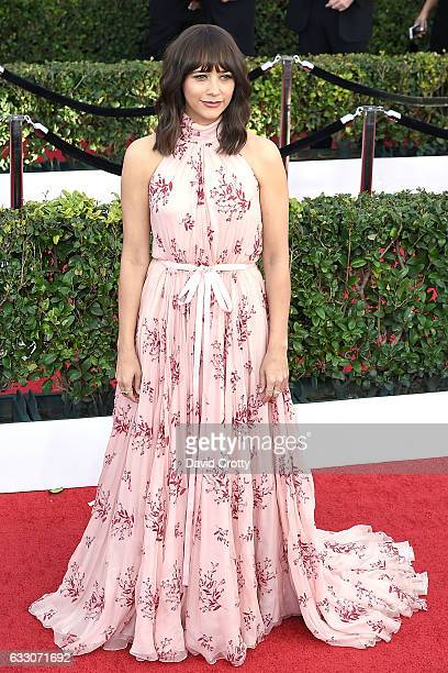 Rashida Jones attends the 23rd Annual Screen Actors Guild Awards at The Shrine Expo Hall on January 29 2017 in Los Angeles California