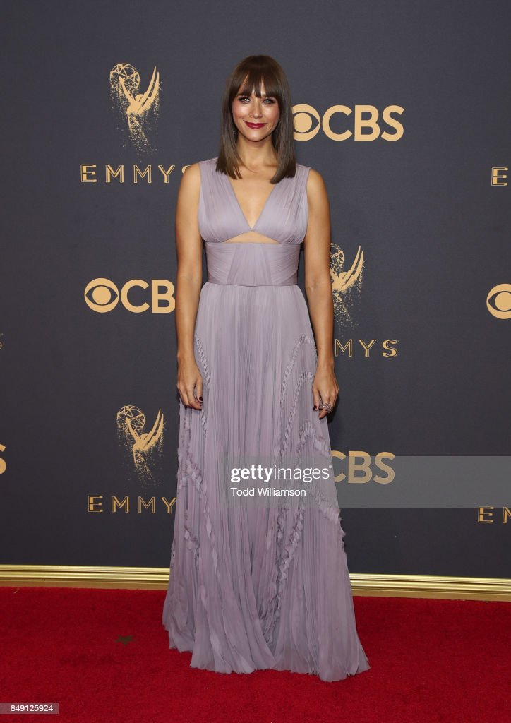 Rashida Jones attends the 69th Annual Primetime Emmy Awards at Microsoft Theater on September 17, 2017 in Los Angeles, California.