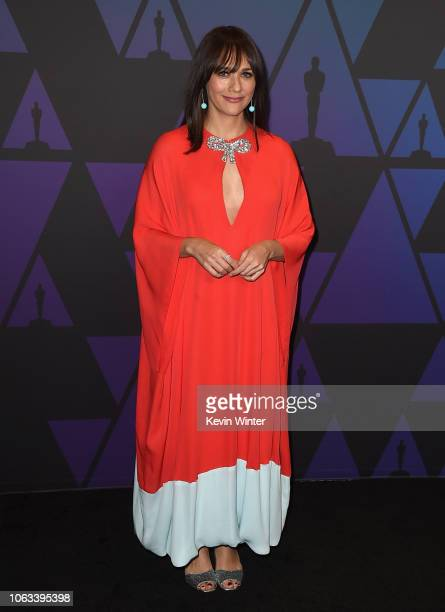Rashida Jones attends the Academy of Motion Picture Arts and Sciences' 10th annual Governors Awards at The Ray Dolby Ballroom at Hollywood Highland...