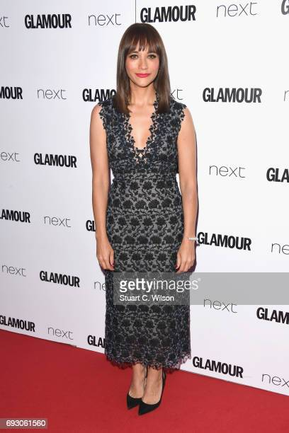 Rashida Jones attends the Glamour Women of The Year awards 2017 at Berkeley Square Gardens on June 6 2017 in London England