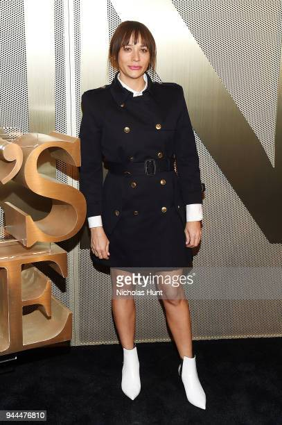 Rashida Jones attends the Nordstrom Men's NYC Store Opening on April 10 2018 in New York City