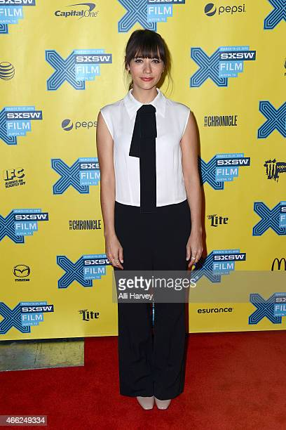 Rashida Jones attends the TBS Angie Tribeca Premiere at SXSW at Austin Convention Center on March 14 2015 in Austin Texas