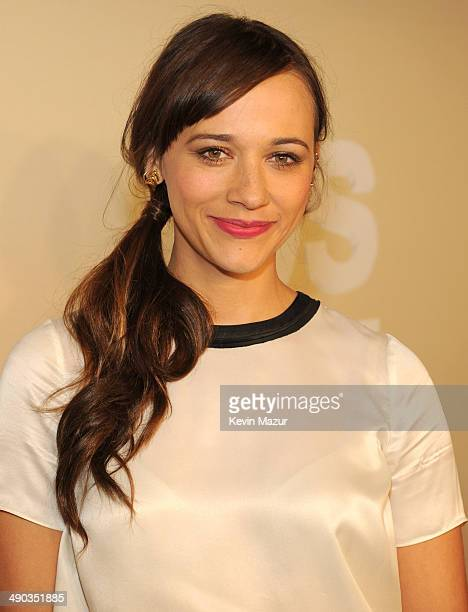 Rashida Jones attends the TBS / TNT Upfront 2014 at The Theater at Madison Square Garden on May 14 2014 in New York City 24674_001_0338JPG