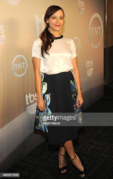 Rashida Jones attends the TBS / TNT Upfront 2014 at The Theater at Madison Square Garden on May 14 2014 in New York City 24674_001_0327JPG