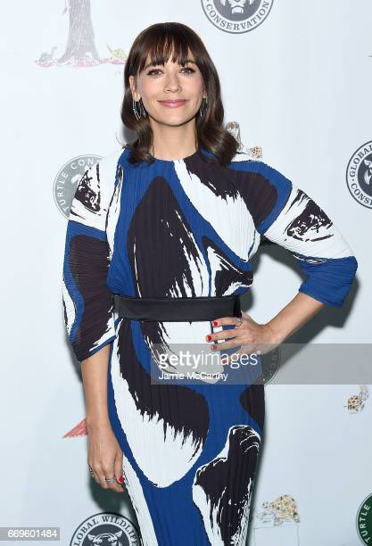 Rashida Jones attends The Turtle Conservancy's Fourth Annual Turtle Ballat The Bowery Hotel on April 17 2017 in New York City