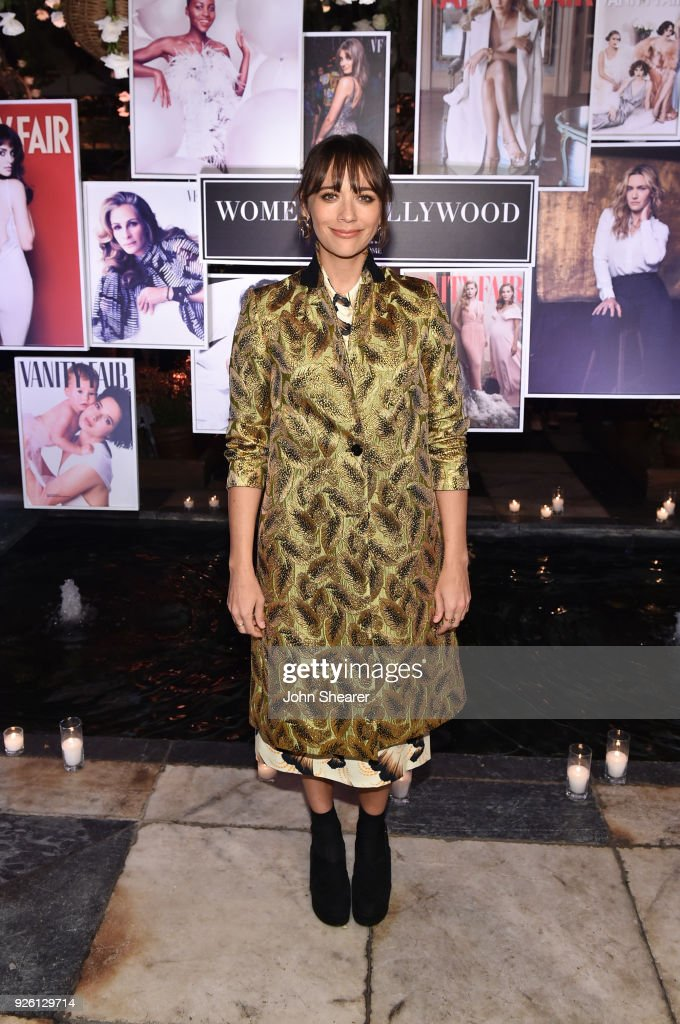 Rashida Jones celebrates with Belvedere Vodka at Vanity Fair and Lancome Paris Toast Women in Hollywood, hosted by Radhika Jones and Ava DuVernay, on March 1, 2018 in West Hollywood, California.