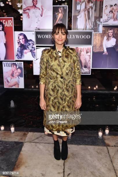 Rashida Jones celebrates with Belvedere Vodka at Vanity Fair and Lancome Paris Toast Women in Hollywood hosted by Radhika Jones and Ava DuVernay on...