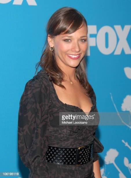Rashida Jones during The 2007/2008 Fox Upfronts Arrivals at Wollman Rink Central Park in New York City New York United States