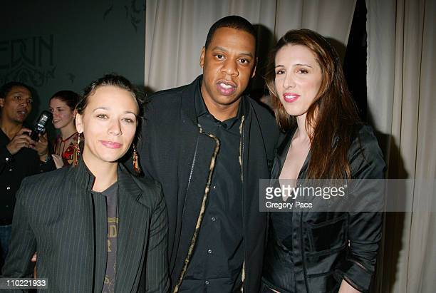Rashida Jones JayZ and Alexandra Kerry during Bono and Saks Fifth Avenue Host Launch Party of EDUN A New 'Conscious Commerce' Clothing Line at Saks...