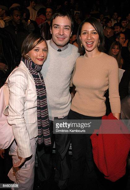 Rashida Jones Jimmy Fallon and Maya Rudolph