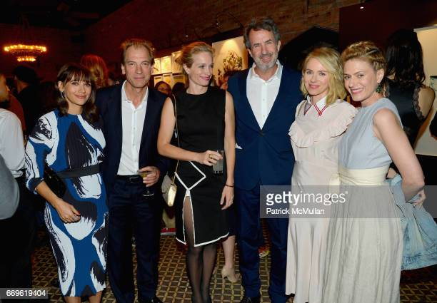 Rashida Jones Julian Sands Alexis Bloom Eric Goode Naomi Watts and Sunrise Coigney attend The Turtle Conservancy's 4th Annual Turtle Ball at The...