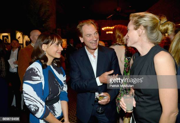 Rashida Jones Julian Sands and Alexis Bloom attend The Turtle Conservancy's 4th Annual Turtle Ball at The Bowery Hotel on April 17 2017 in New York...