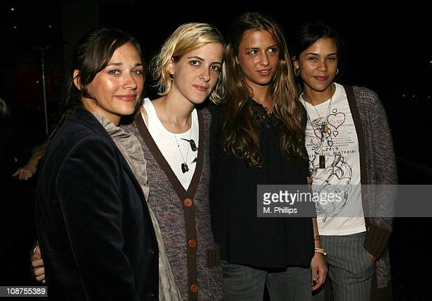 Rashida Jones Samantha Ronson Charlotte Ronson and Kidada Jones