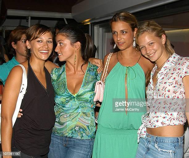 Rashida Jones Shoshanna Lonstein Gruss Charlotte Ronson and Annabelle Dexter Jones
