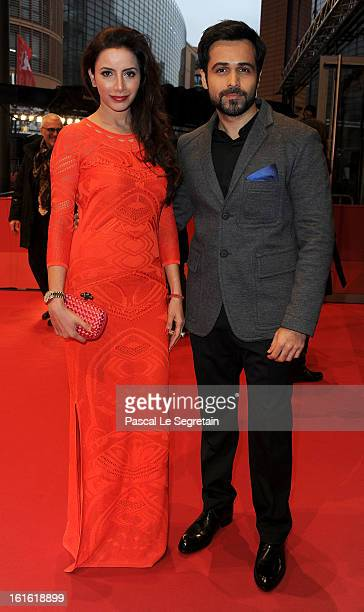 Rashita Chaudhary and Emraan Hashmi attend the 'An Episode in the Life of an Iron Picker' Premiere during the 63rd Berlinale International Film...