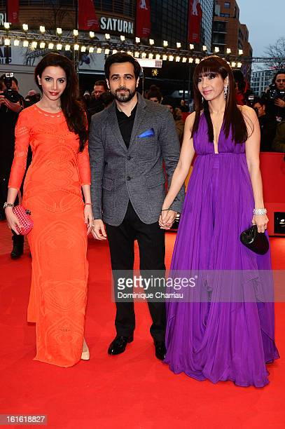 Rashita Chaudhary Emraan Hashmi and Parveen Shahani attend the 'An Episode in the Life of an Iron Picker' Premiere during the 63rd Berlinale...