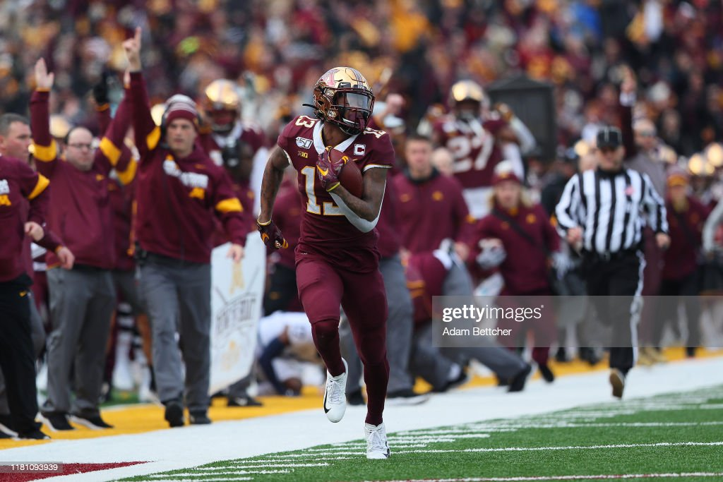 Penn State v Minnesota : News Photo