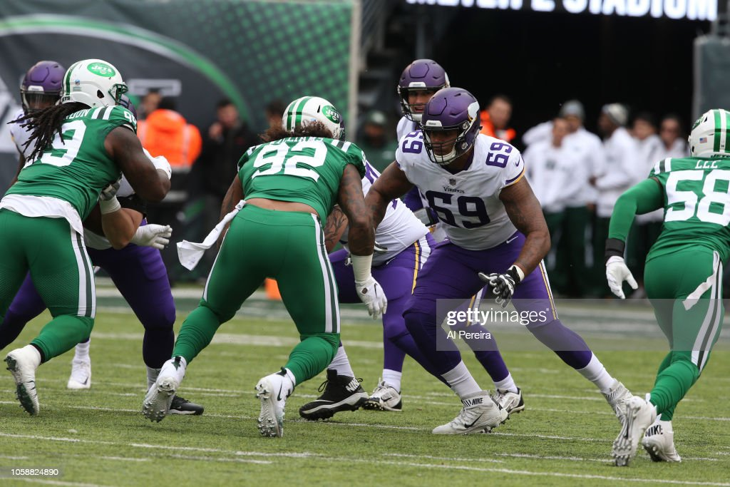 new styles c594d d7262 Rashod Hill of the Minnesota Vikings during the game against ...