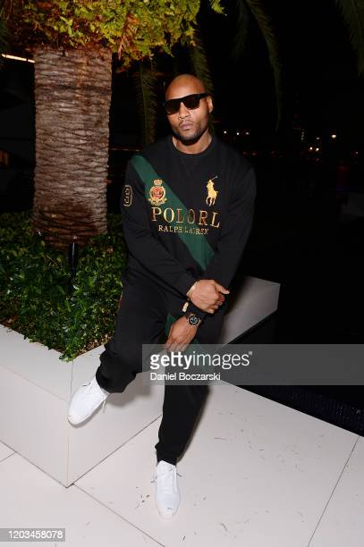 Rashod Kent attends Lil Wayne's Funeral album release party on February 01 2020 in Miami Florida