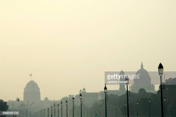 Rashtrapati Bhavan and the Secretariat Building