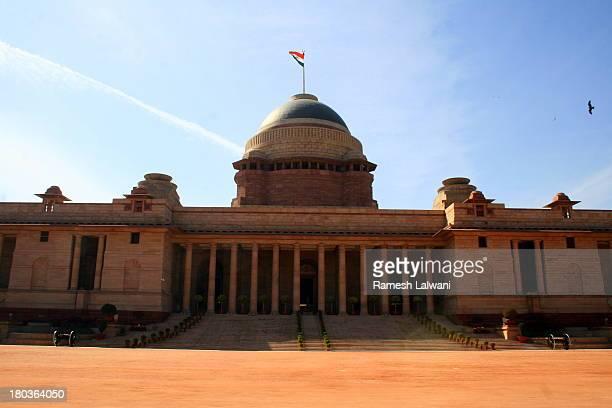 rashtrapati bhawan-003 - rashtrapati bhavan presidential palace stock pictures, royalty-free photos & images