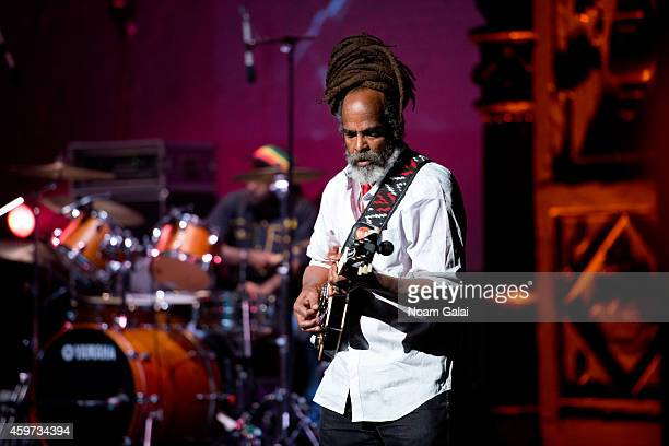 Rasmel of The Wailers performs during The Wailers 30th Anniversary Performance at The Apollo Theater on November 29 2014 in New York City