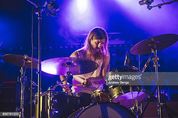 Rasmus Andersson of Fews performs at O2 Academy Leeds on November 30 2016 in Leeds England