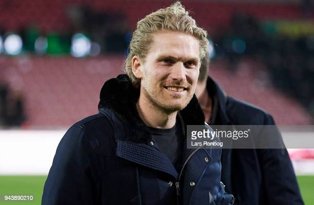 Rasmus Ankersen head of the board of FC Midtjylland after the Danish Alka Superliga match between FC Midtjylland and FC Copenhagen at MCH Arena on...