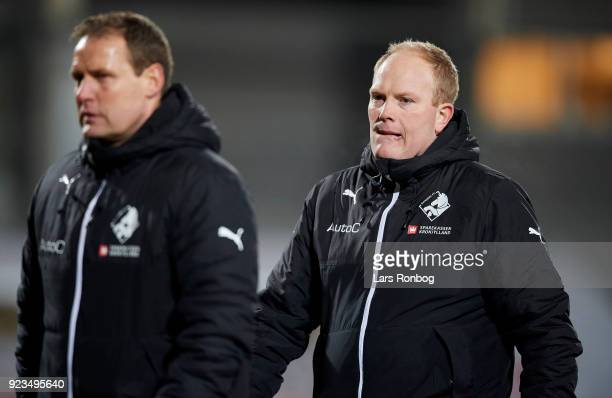 Rasmus Bertelsen head coach of Randers FC after the Danish Alka Superliga match between AC Horsens and Randers FC at CASA Arena Horsens on February...