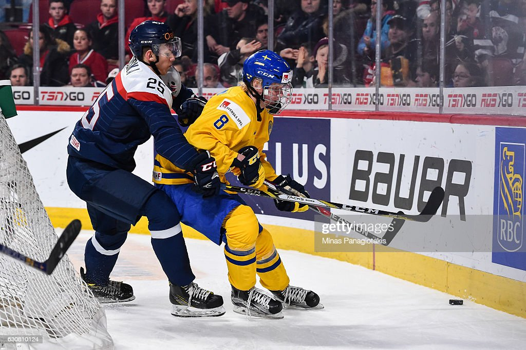 Sweden v Slovakia: Quarterfinal - 2017 IIHF World Junior Championship