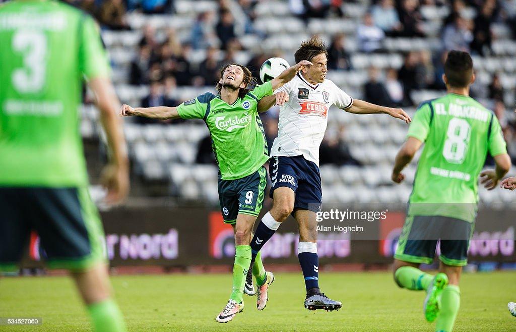 AGF Aarhus vs OB Odense - Danish Alka Superliga : News Photo
