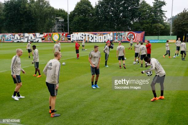 Boy Kemper of Ajax during the First Training Ajax at the De Toekomst on June 20 2018 in Amsterdam Netherlands